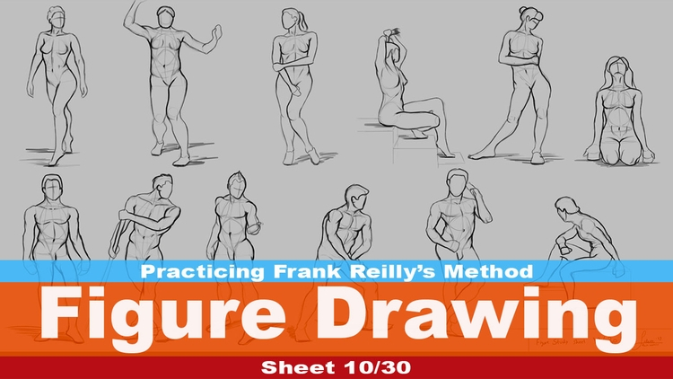Figure Drawing 10/30 (Practicin - rain_walker | ello