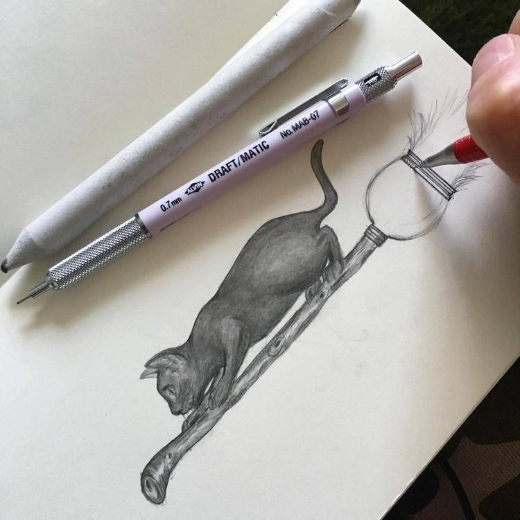 Working Halloween sketches. fre - thornbird | ello