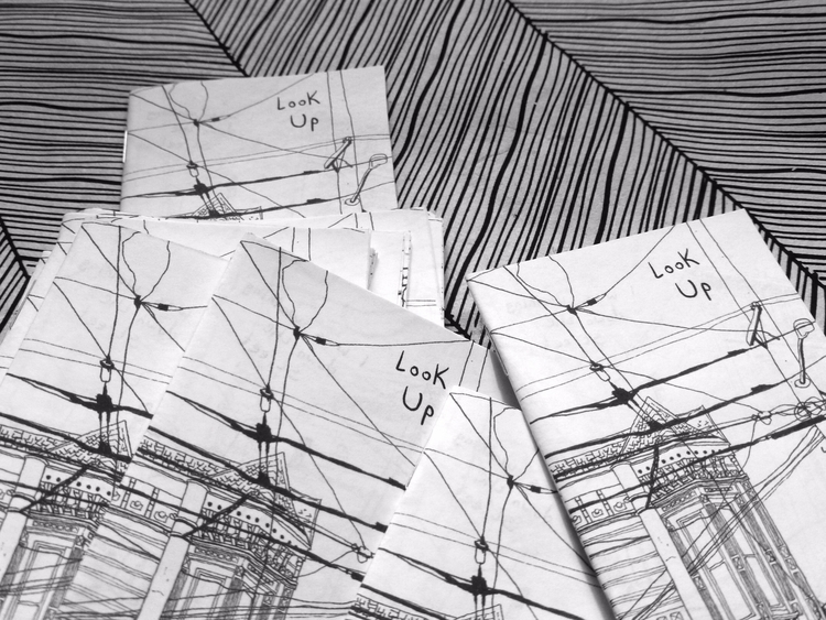 sending batch zines! Buy space  - ericdyer | ello