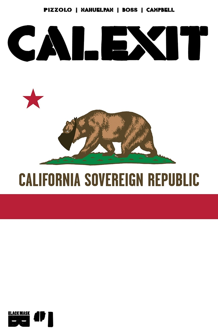 Proceeds CALEXIT Comic Book Fun - comicbuzz | ello