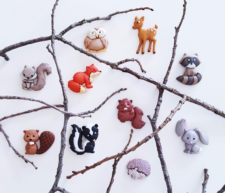 Woodland Animals Magnet Set GIV - themagnetorium | ello