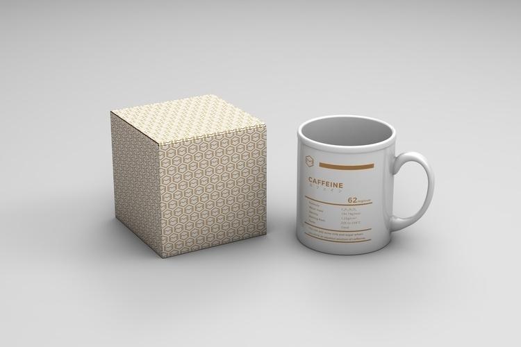 Caffeine mug - design, product - falcema | ello