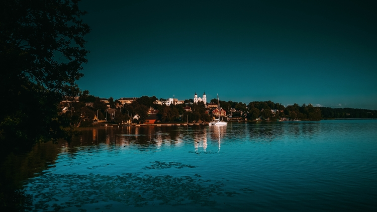zarasai, lake, landscape, city - beheroght | ello