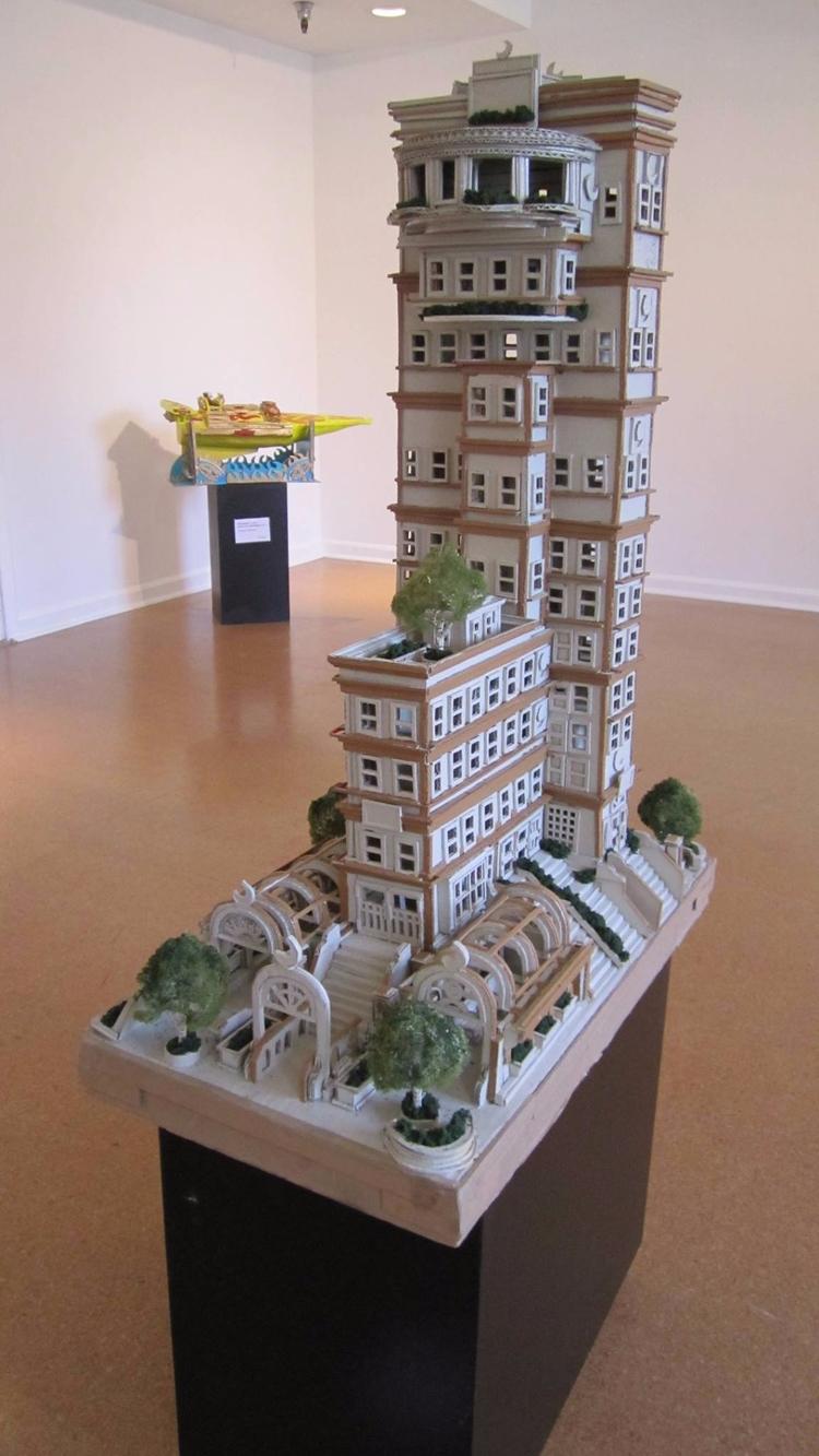 Artist: Ron Zeno Title: Buildin - lamanchagallery | ello