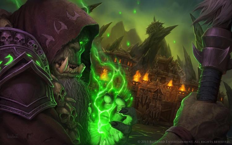 Warcraft supervillain Gul'dan.  - fabimo | ello