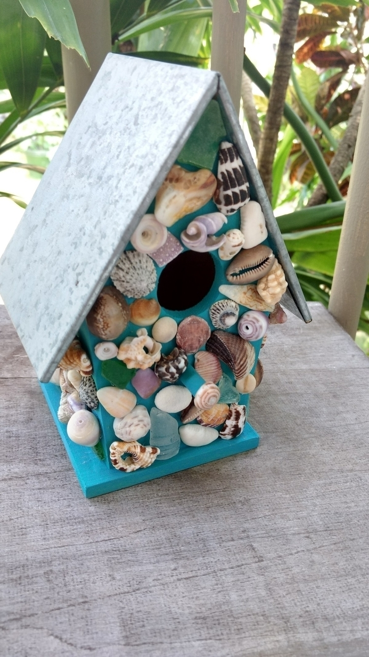 Hawaiian Shell Birdhouse shop - etsy - flatterydesigns | ello