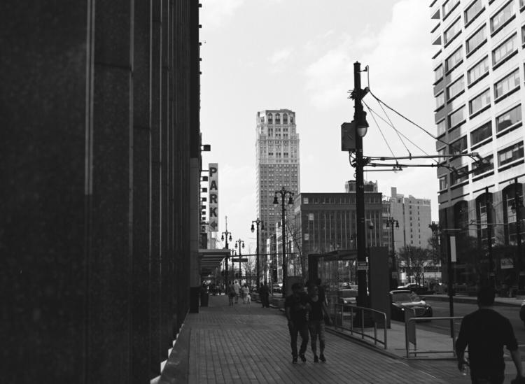 Detroit, MI Mamiya 645 / Ilford - mlmyers | ello