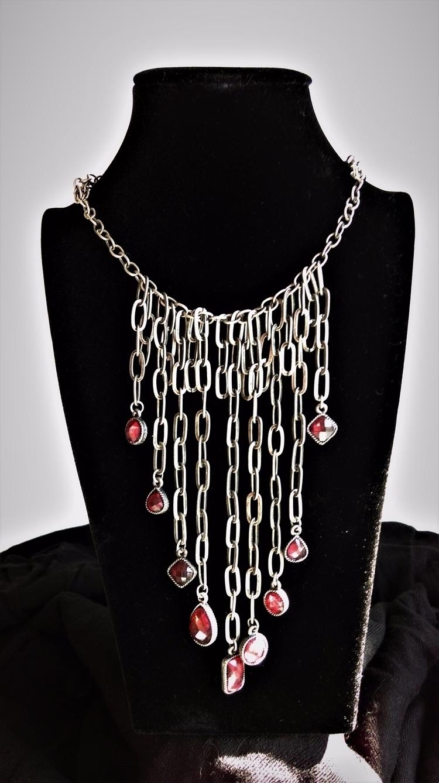 plastic - upcycled, black, chain, - haleh_creates | ello