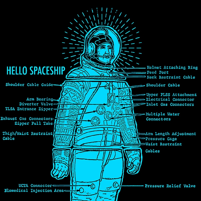 Astronaut Spaceship - astronaut - hellospaceship | ello
