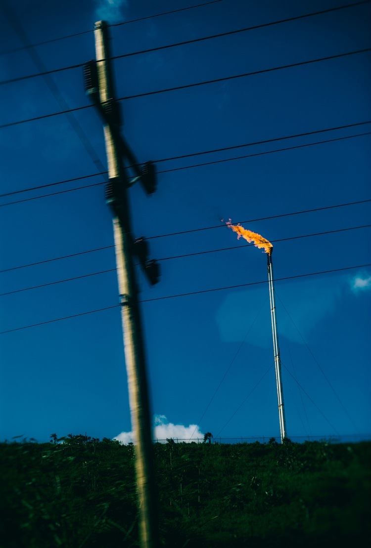 eternal flame road - Cuba, gas - christofkessemeier | ello