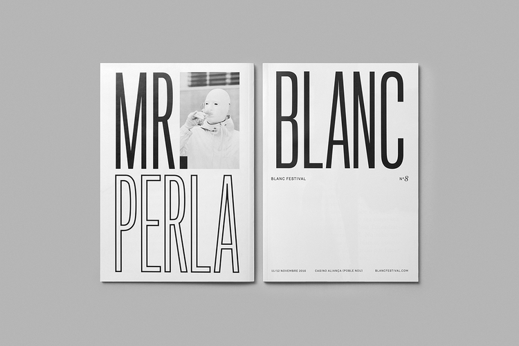 Book design Blanc Festival Barc - northeastco | ello