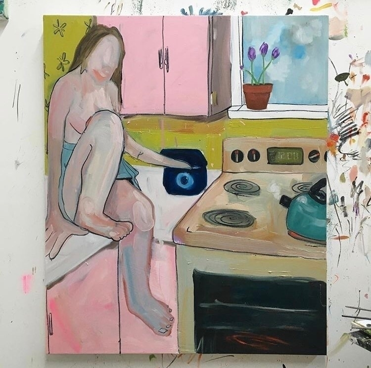 featured: paintings stella cade - neoncart | ello