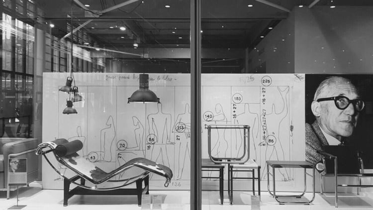 Le Centre-Pompidou - Corbusier, Exhibition - bauhaus-movement   ello