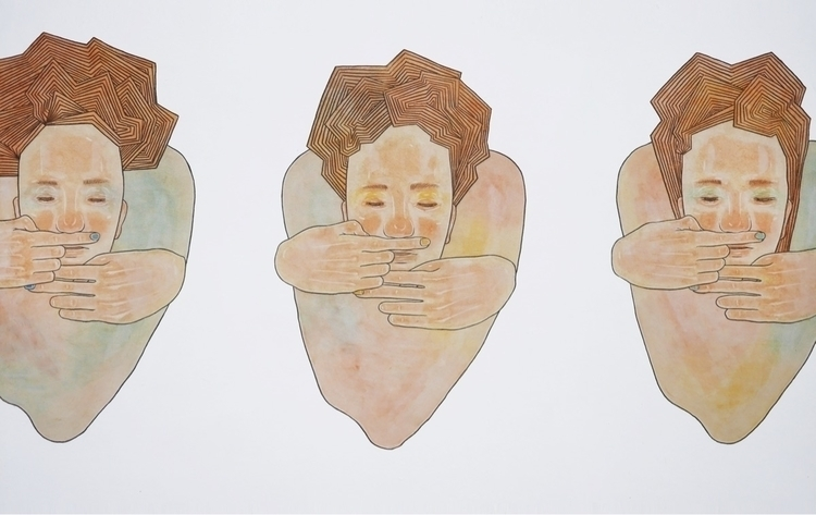 korean paper 2017 116.8x72.7cm - juhankim | ello