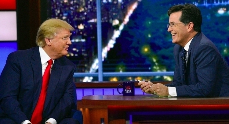 Stephen Colbert giving beloved  - ccruzme | ello