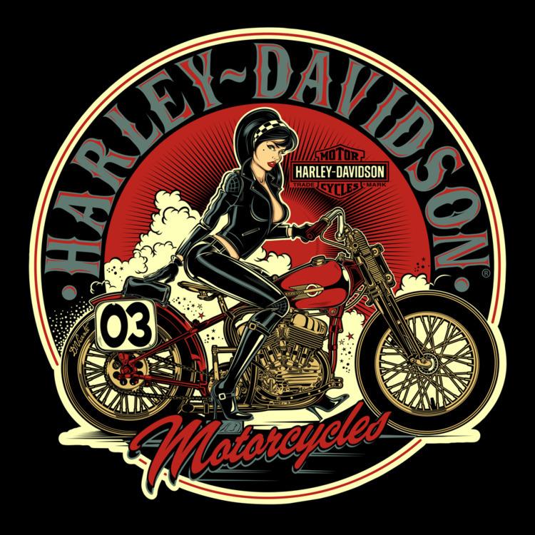 Design commission HARLEY-DAVIDS - dvicente777 | ello