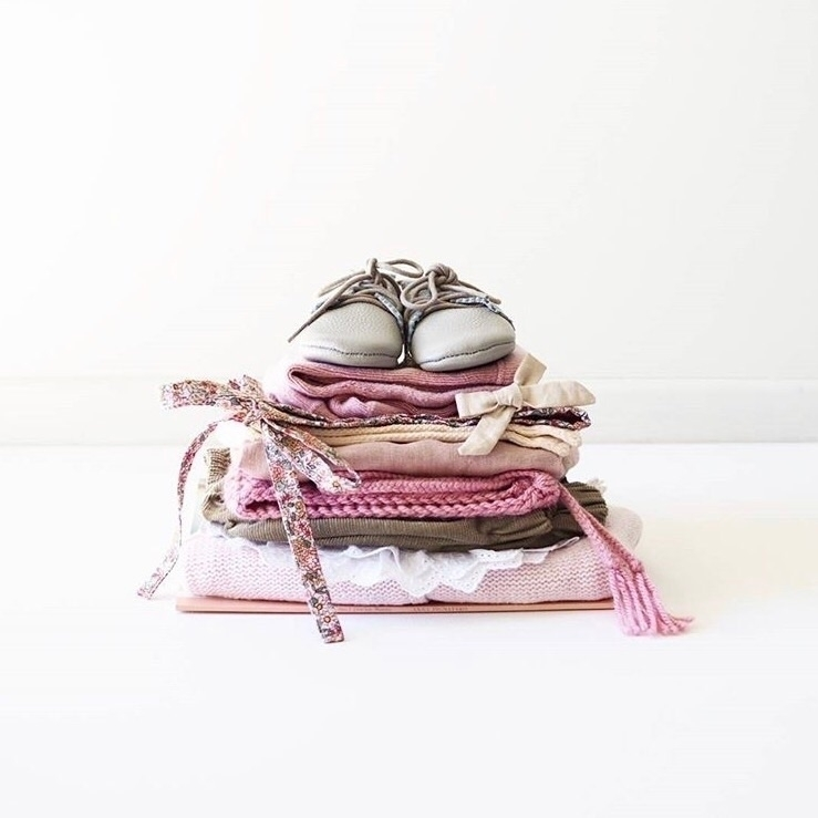 Dusty Pink Vintage Bonnet stack - steeniesbeanies | ello