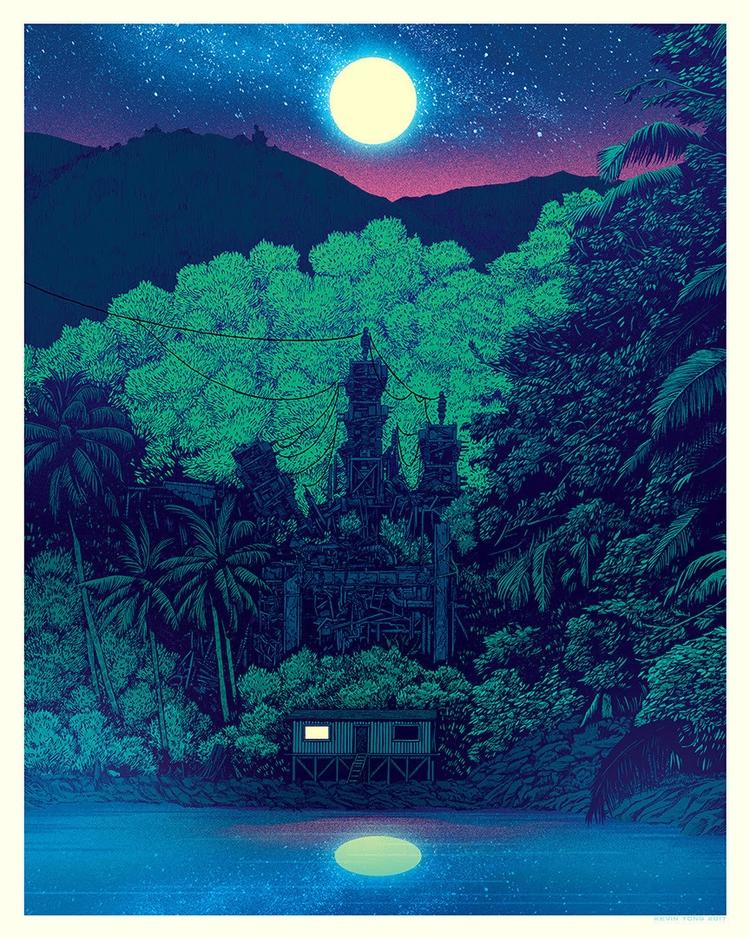'Jungle' 'Yosemite' Kevin Tong - geekynerfherder   ello
