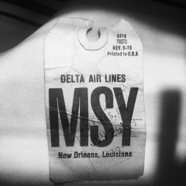 msy, neworleans, traincase, luggagetag - lynell | ello
