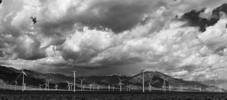wind farm Spring Valley, east E - docdenny | ello