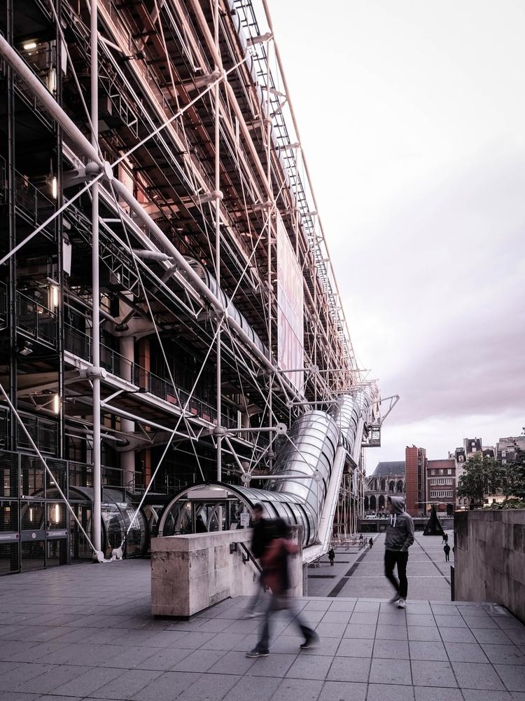 Pompidou, timeless... turning 4 - danhogman | ello