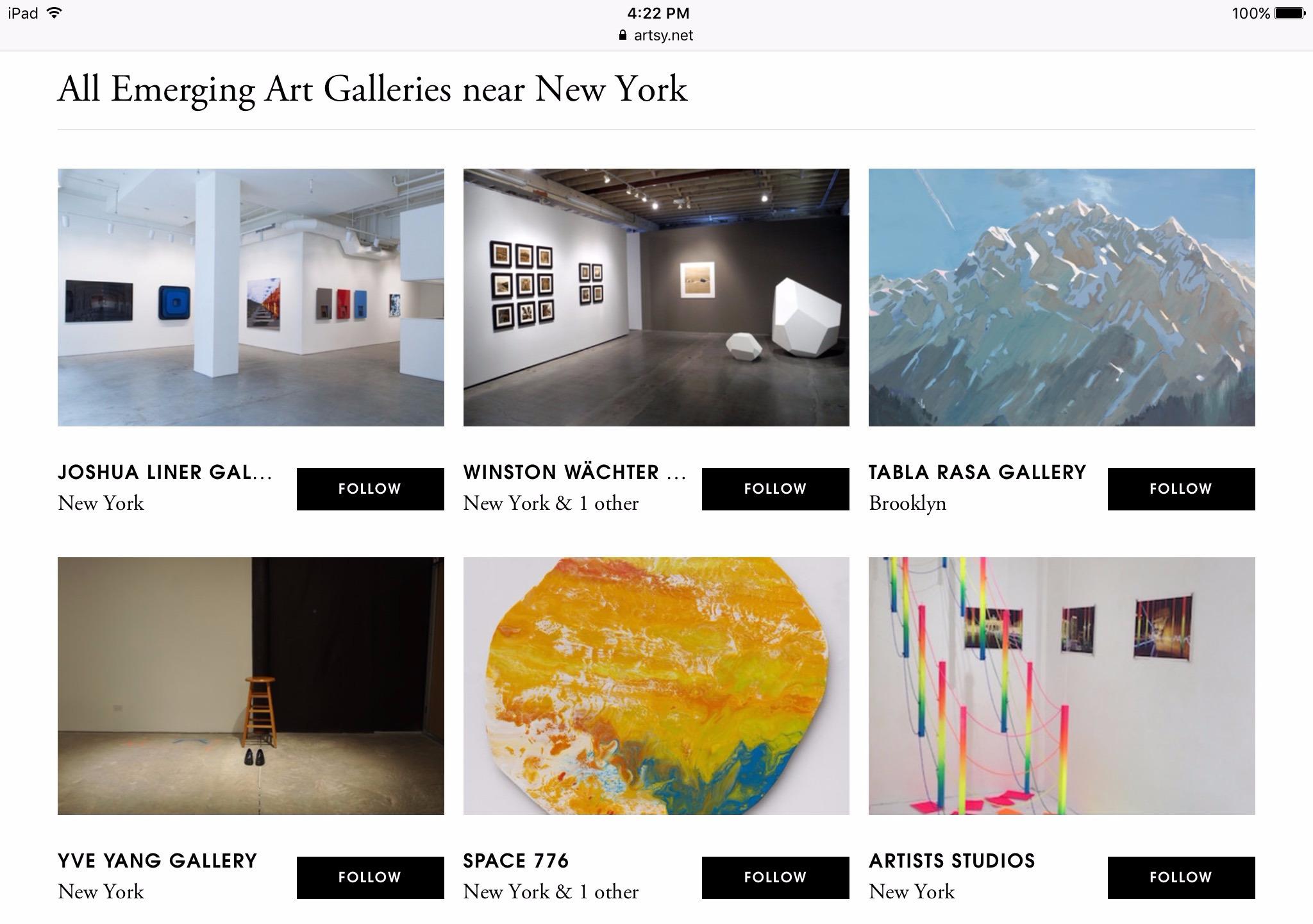 | Artists Studios top 6 - art, artists - as_studios | ello