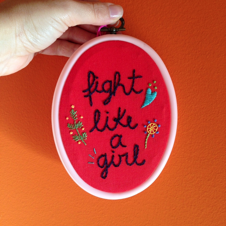 Fight girl Carol Grilo • Brasil - fofysfactory | ello