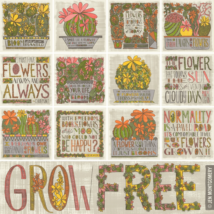 13 inspirational flowering cact - jenmontgomery | ello
