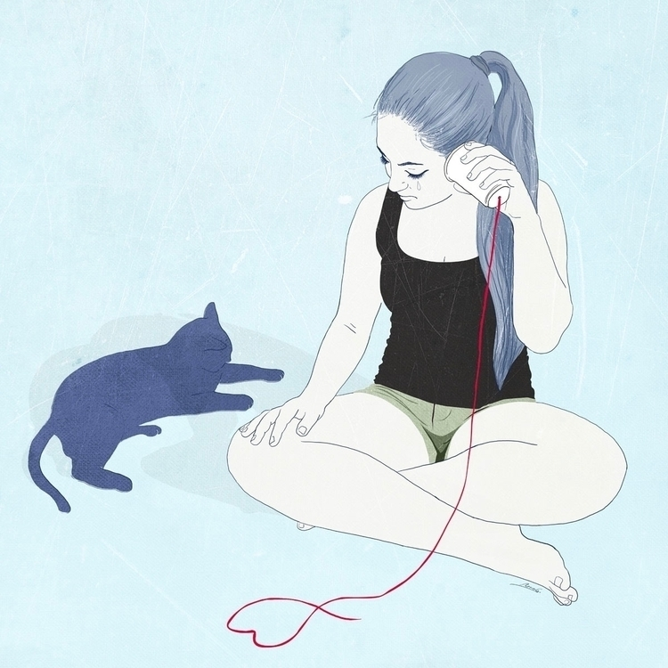 hear voice anymore - illustration - roma_gutierrez | ello