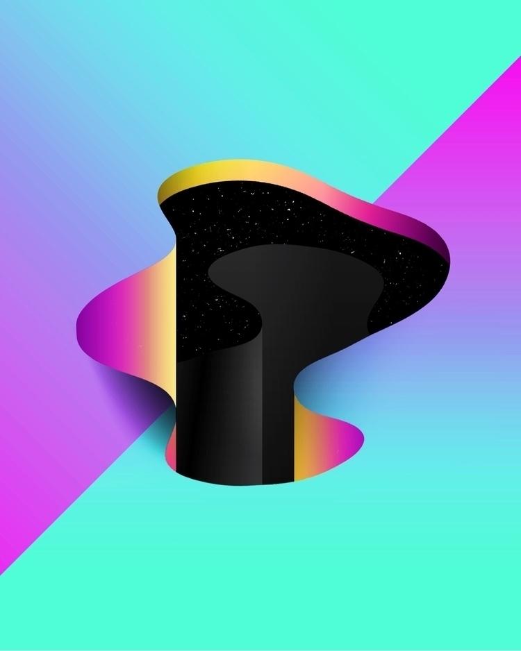 PORTAL - abstract, geometric, surreal - matthewcustar | ello
