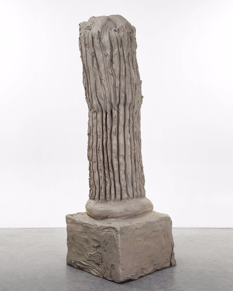 Urs Fischer Column 2014, Cast b - modernism_is_crap   ello