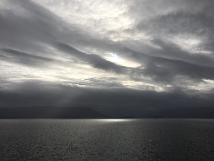 photography, alaska, fjord, clouds - peterhartgregory | ello