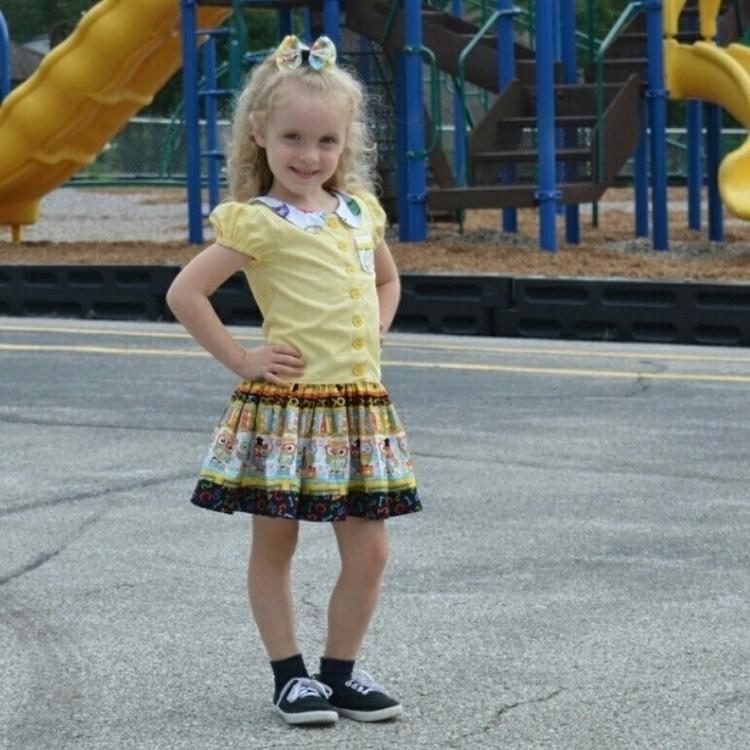 school Dress Hairbow... Outfit  - kattskreations | ello