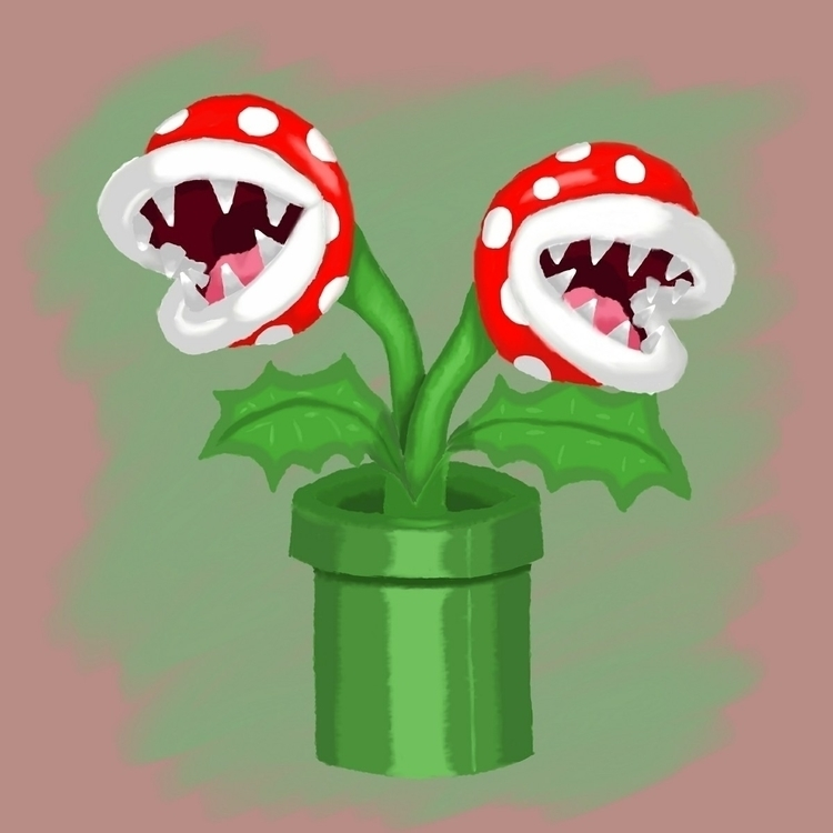 piranha plant piece. alliterati - thai_lure | ello