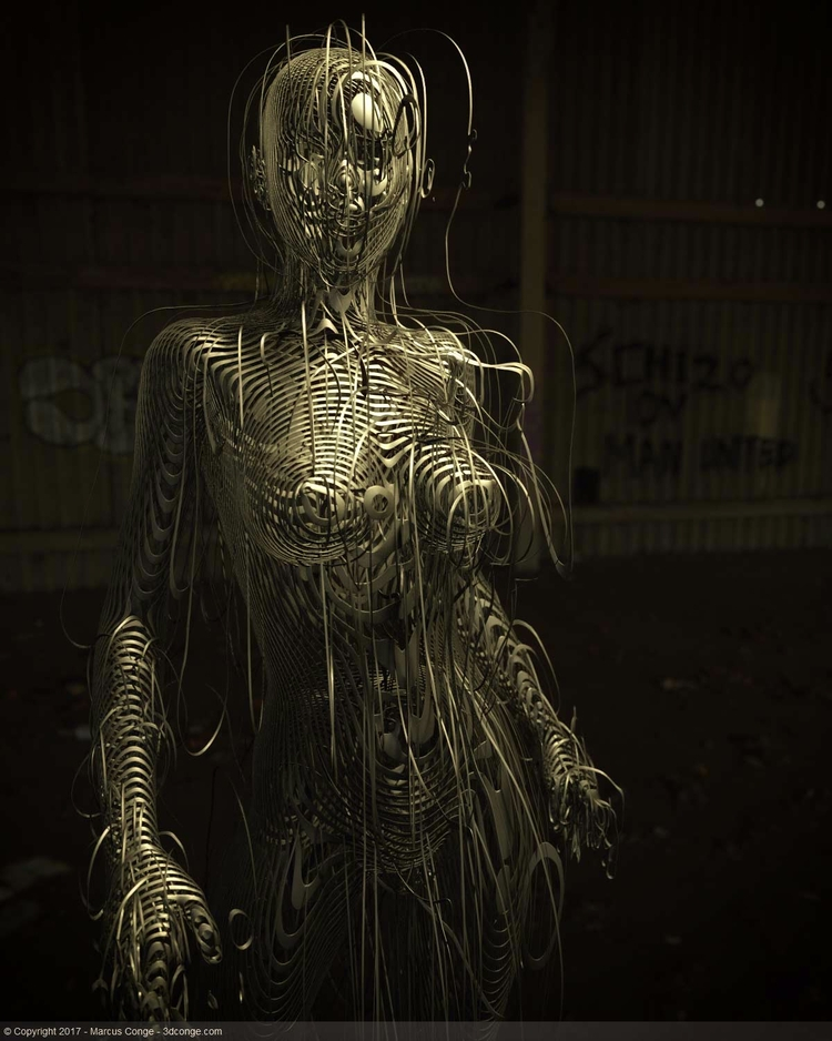 ShaDe - cinema4d, everyday, 3d, sculpt - rockingthepixel | ello