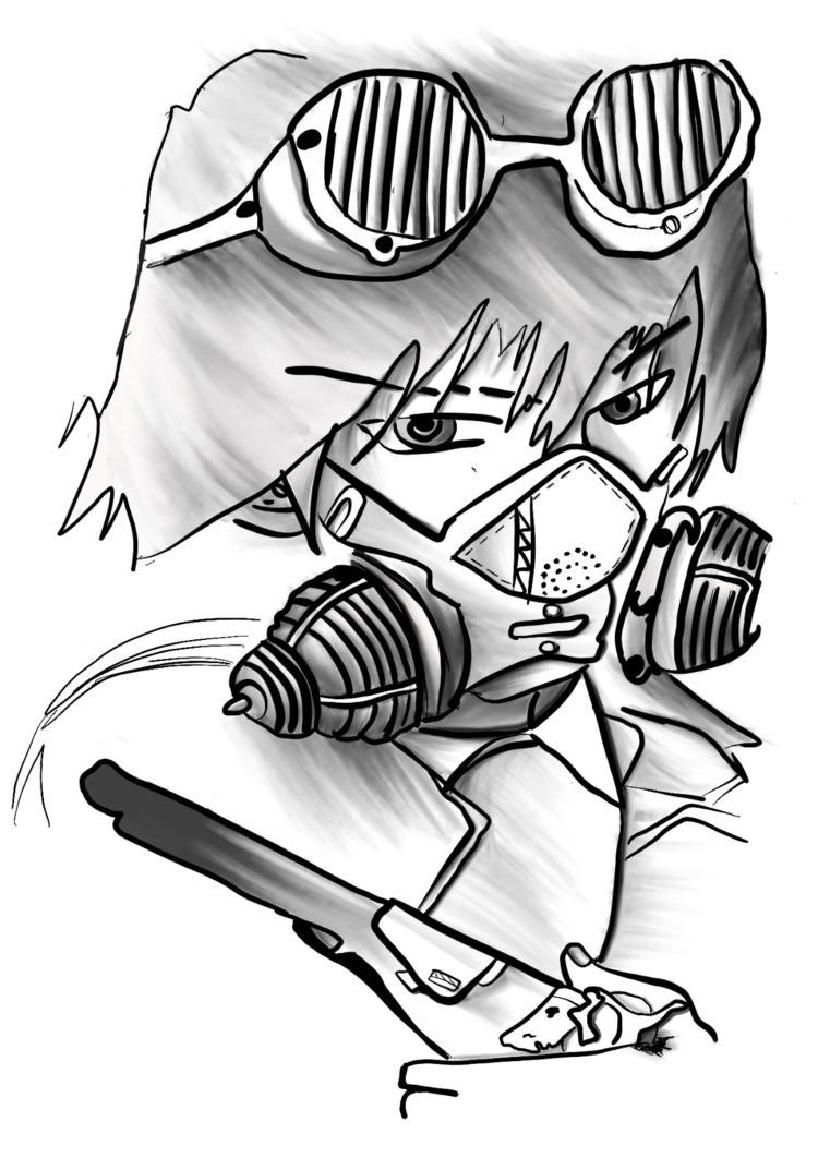 study working shadows wrong - anime - zynnacal | ello