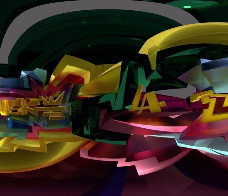 Finished - VR, 3D, Graffiti, Cubism - tezone   ello