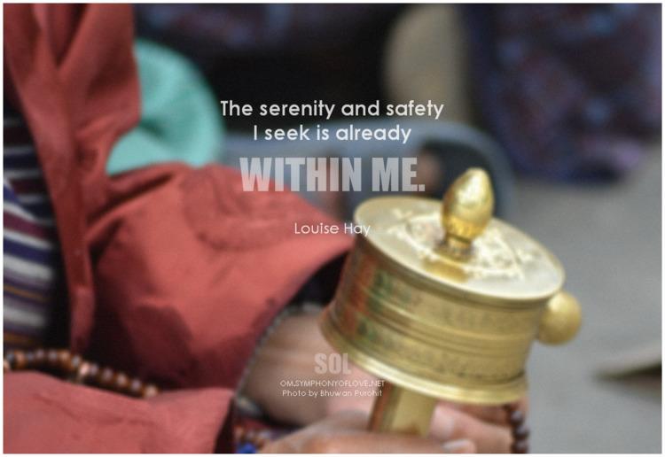 picture quotes Peace serenity s - symphonyoflove | ello