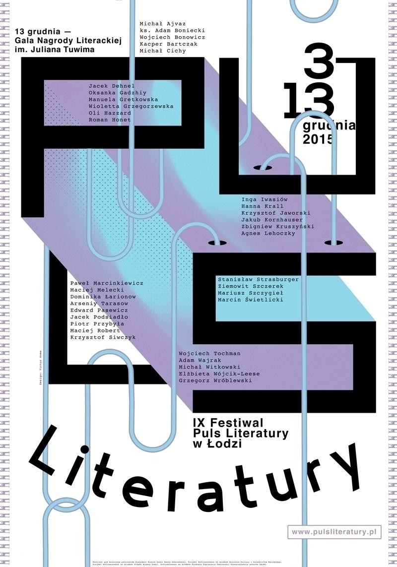 poster 9. PULS LITERATURY (Puls - victorsoma   ello