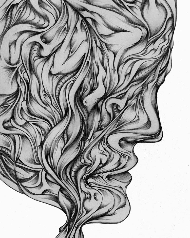 mind? 2009 - surreal, illustration - ctrl-alt-delange | ello