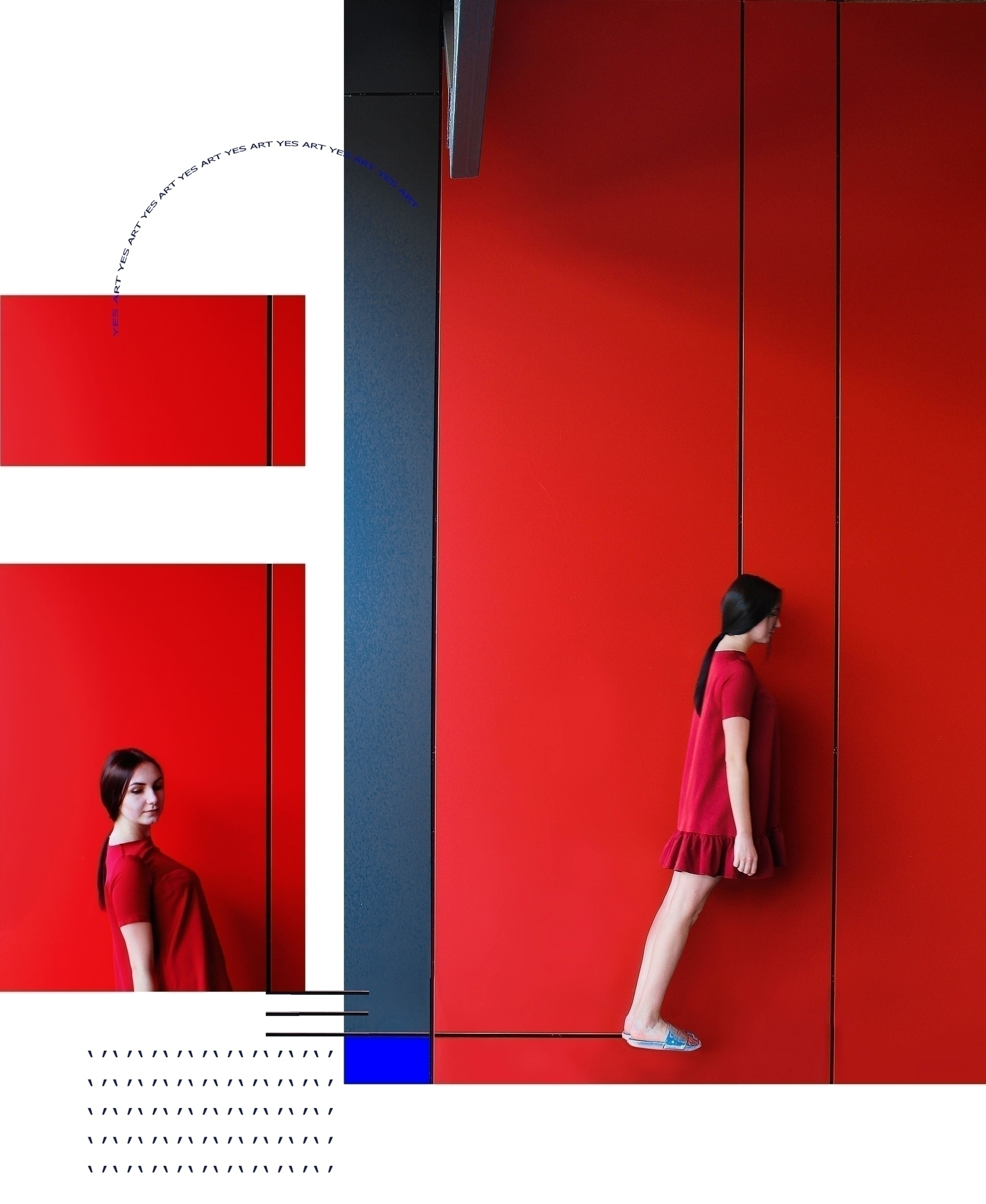 RED GRAVITATION 2017 лінія - red - svitlanayershova | ello