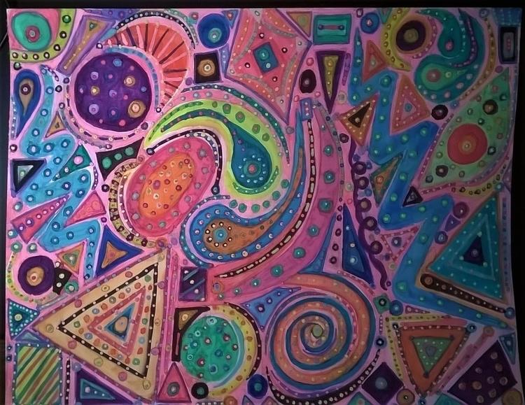 Life 11x14 watercolor - donebyme - teerivsaid   ello