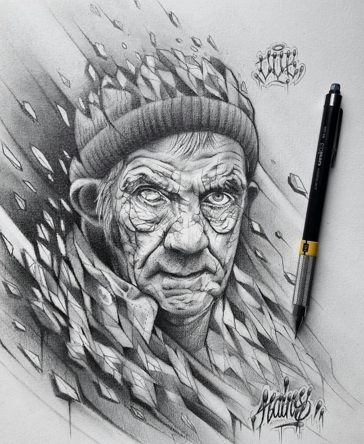 rains, graffiti, cdb, drawing - rains_lm | ello