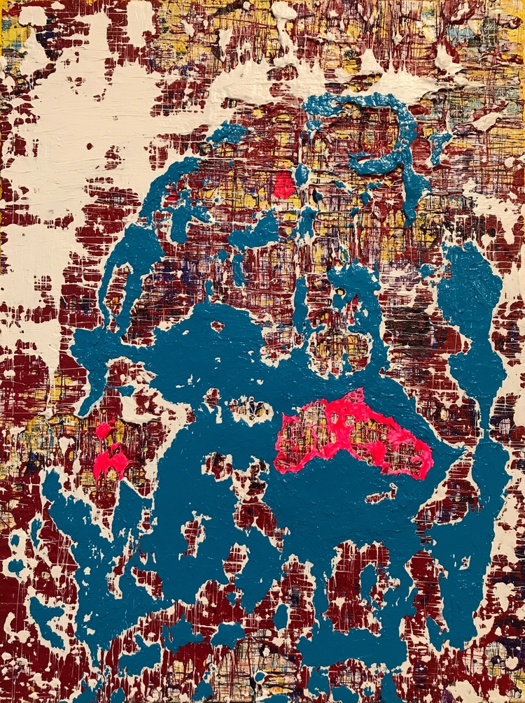 "world 12""x16"" acrylic canvas $4 - nuisms | ello"