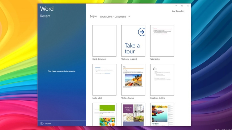 Microsoft begins testing Fluent - bradstephenson | ello