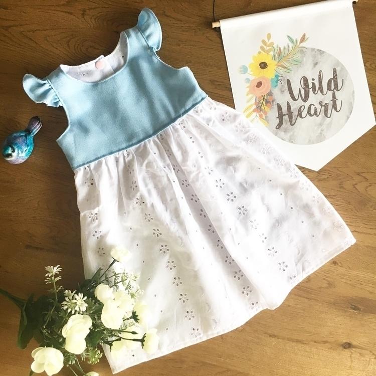 Sparkle Tea Party Dress - ilovehandmade - blueberrybubs | ello