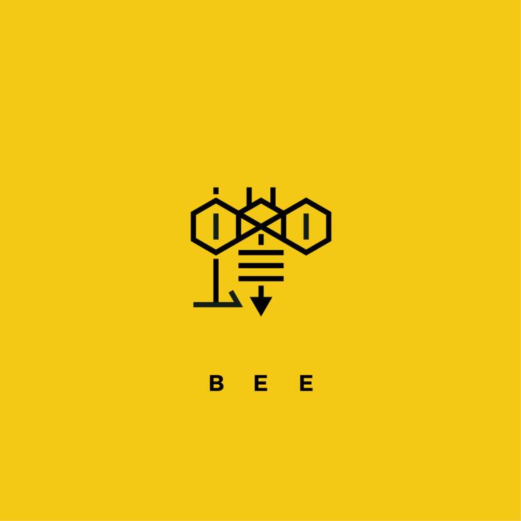蜂 - BEE - logo, design, kanji - falcema   ello