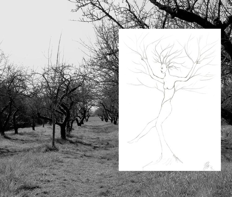 Flow. find inspiration nature o - haleh_creates   ello