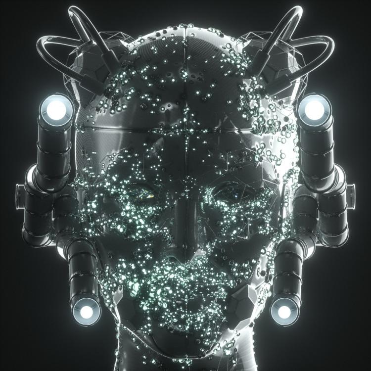 • Digital Swarm - cgi, octanerender - skeeva | ello
