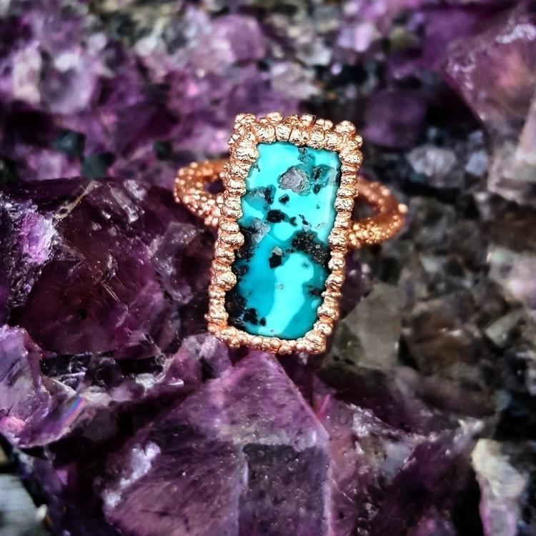 McGinnisTurquoise, electroforming - gypsyhollow | ello